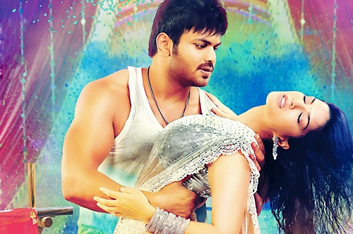 sunny sunny song in current theega movie