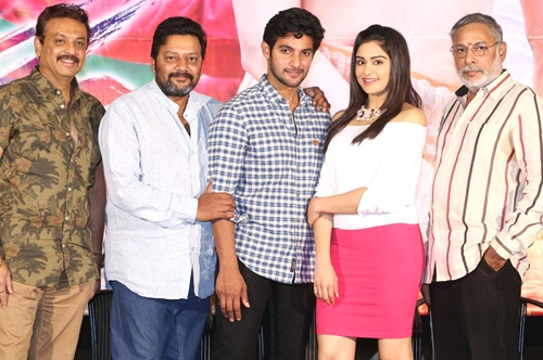 garam movie press meet video