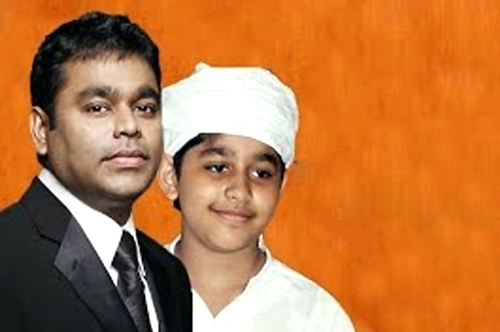 AR Rahman Son AR Ameen Debut Song Promo