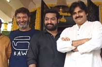 Jr NTR - Trivikram Movie Launch Pooja Ceremony