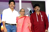 Nagarjuna and RGV New Movie Launch Event