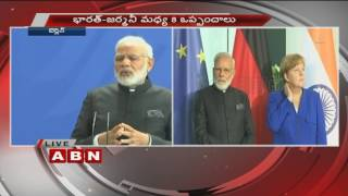 pm modi s speech at the joint press statements in berlin germany