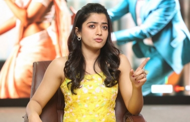 Rashmika Mandanna Interview Stills