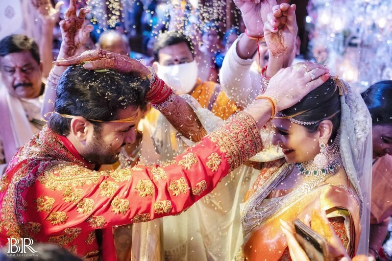 Actor Nithiin Marriage Photos