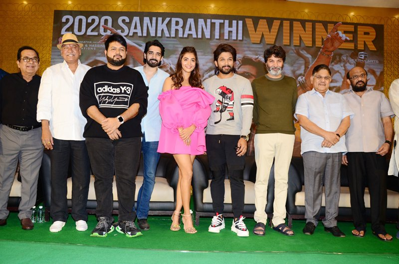 Ala Vaikunthapurramloo Success Meet