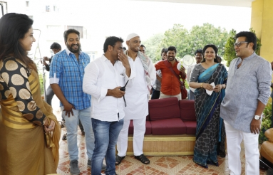 Ananda Bhairavi Movie Working Stills