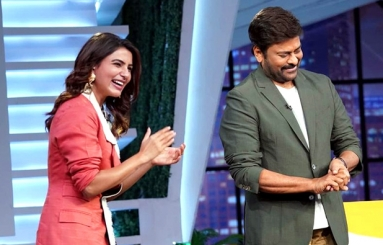 Chiranjeevi At Samantha's Sam Jam Talk Show
