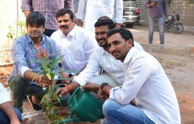 Harish Shankar at Haritha Haram