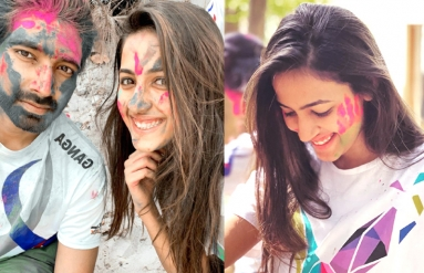 Niharika Holi Celebrations