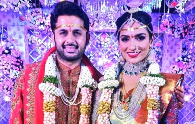 Nithiin and Shalini Wedding Pics