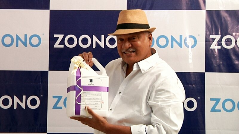Rajendra Prasad Launch Zoono Z71 Surface Sanitiser