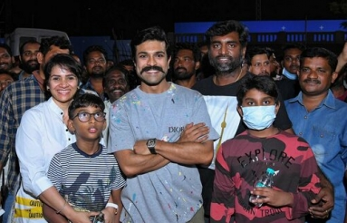 Ram Charan Birthday Celebrations With RRR Team