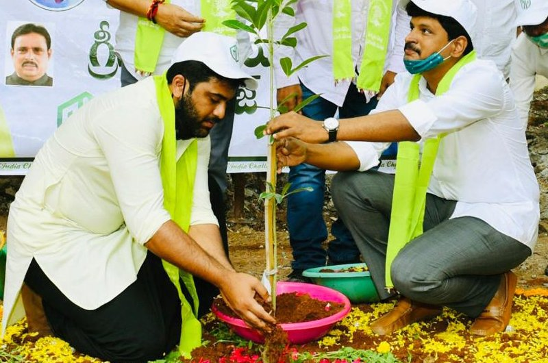 Sharwanand Green India Challenge Pics