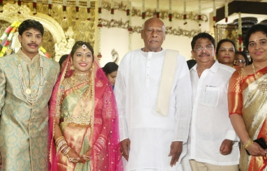Celebs at Producer Kalyan Son Wedding Reception