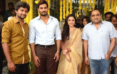 Nani - Vikram Kumar Movie Launch