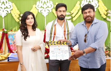 Vaishnav Tej Movie Opening Photos