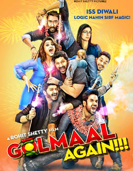 Golmaal Again Movie Review, Rating, Story, Cast & Crew