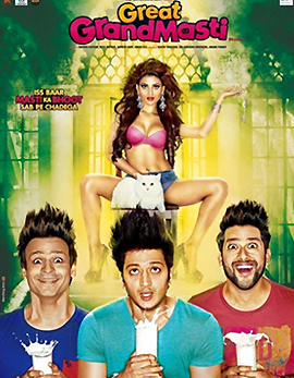 Great Grand Masti Movie Review and Ratings