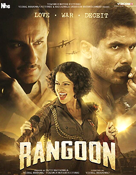 Rangoon Movie Review and Ratings