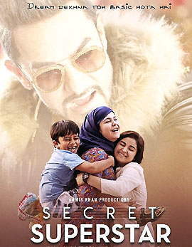 Secret Superstar Movie Review, Rating, Story, Cast & Crew