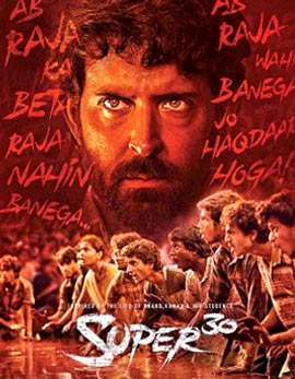 Super 30 Movie Review, Rating, Story, Cast & Crew