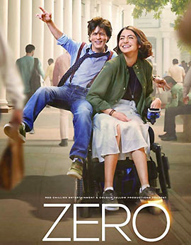 Zero Movie Review, Rating, Story, Cast & Crew