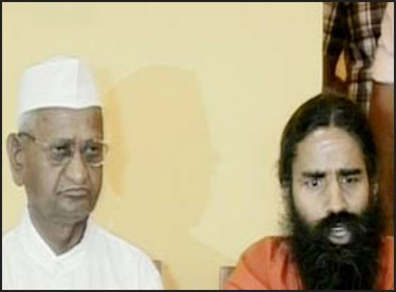Anna Hazare team upset with Ramdev Baba?