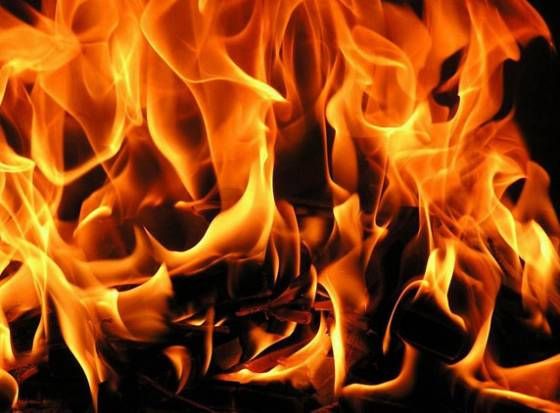 Fire in Vijayanagaram district, child dead