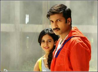 Gopichand's Loukyam first look