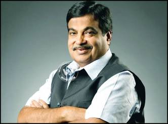 Nitin Gadkari pulls himself