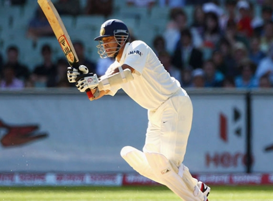 Team India sailing high at the moment, but Sachin just misses another Ton