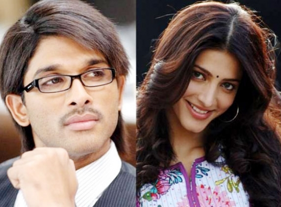 Allu Arjun, Shruti Haasan pairs up