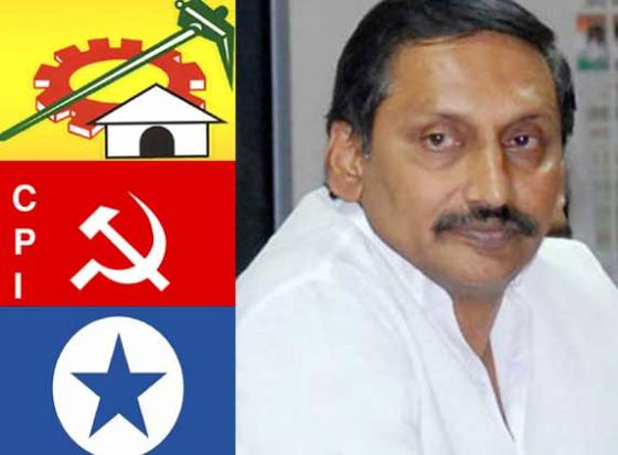 TDP, CPI and Loksatta asked CM to revoke ACB director Srinivas Reddys transfer