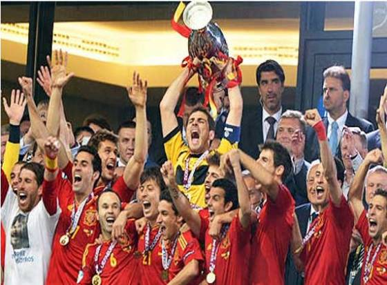 Spanish Sunday in Euro 2012