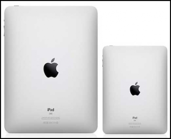 Apple iPad mini latest by 2012 end