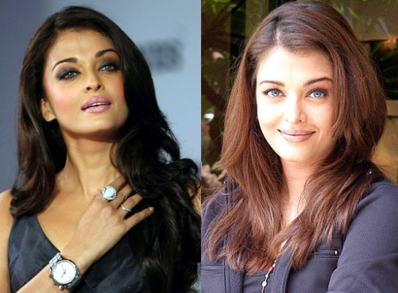 Aishwarya trying Bitter Gourd juice to lose weight
