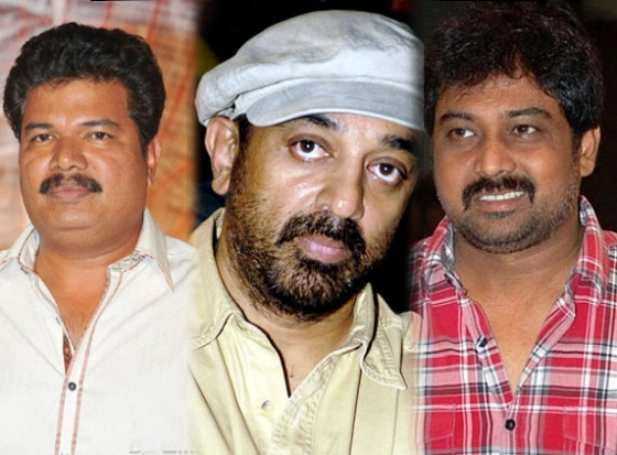 Kamal Hassan upcoming Movie with Shankar  Lingusamy ?