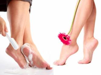 Homemade remedies for cracked heels