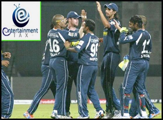 Entertainment tax waived off for Deccan Chargers
