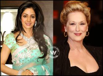 Sri Devi steps into Hollywood with Merly Streep