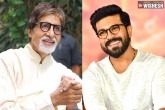 Ram Charan next movie, Ram Charan, amitabh bachchan has a surprise for ram charan, Surprise