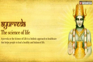 Ayurveda - way of natural living