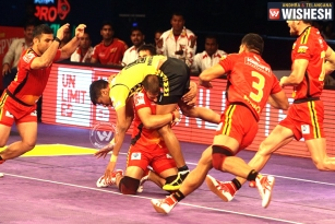Telugu Titans Faced Defeat Against Bengaluru Bulls 28-30