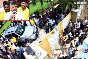 Chalo Atmakur Row: Chandra Babu House Arrested