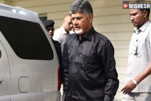 Chandra Babu Spotted In Black Shirt: Protest Against Modi