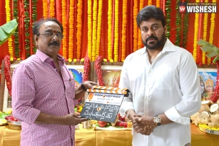 Megastar Chiranjeevi's 150th Film Launched
