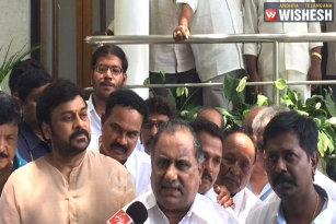 Chiranjeevi Demands CBI Inquiry on Tuni Agitation