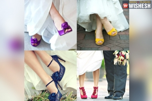 Different Color Wedding Shoes to Match Your Wedding Theme