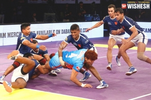 Dabang Delhi KC Beat Bengal Warriors 41-20