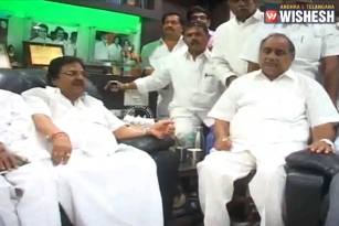 Dasari Narayana Rao Holds Lunch Meeting at his Residence